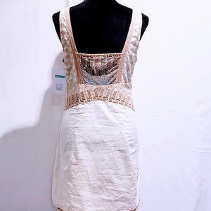 Free People Dresses - Free People Mesh lace embroidered dress size 8🦄💋